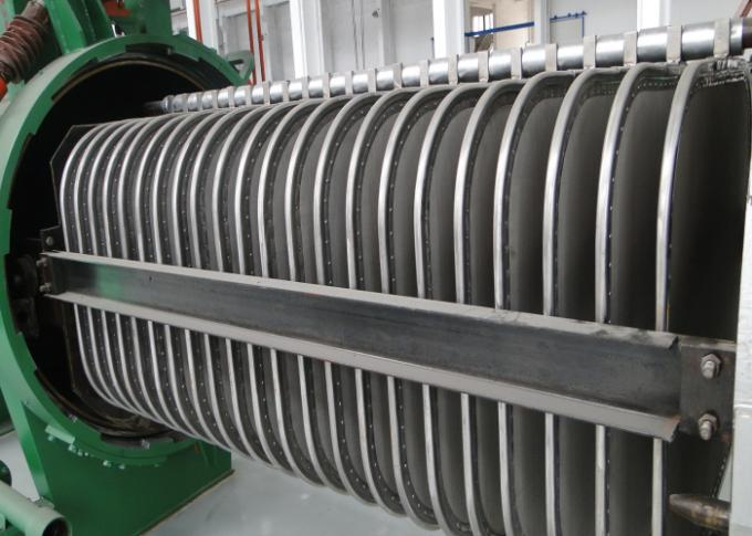 High efficiency stainless steel pressure horizontal plate filter for liquid sulphur