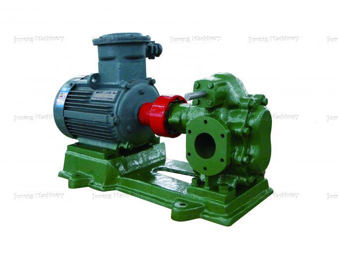 Lubrication Oil Transfer Gear Pump / Viscous 5-1500 Cp Liquid Fluid Transfer Pump