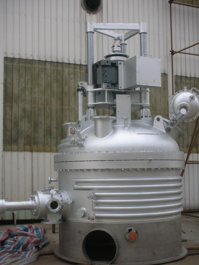 Fully Enclosed SS304 Agitated Nutsche Filter Dryer Filtering And Washing Machine