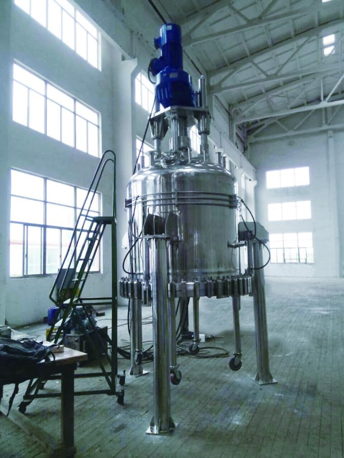 GXG 1200 Low Pressure Agitated Nutsche Filter Dryer For Pharmaceutical Industries