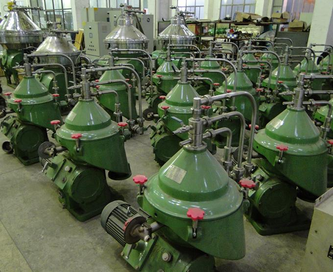 Industrial Scale Centrifuge Oil Water Separator Marine Fuel Oil Water Cleaning