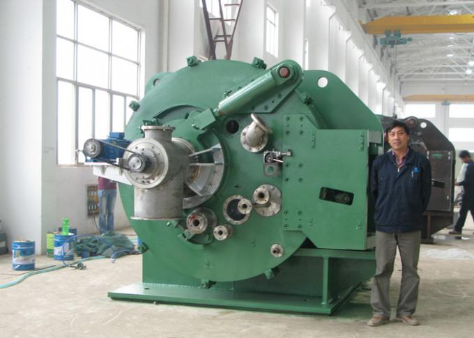 Small solid remove vacuum green color centrifugal solid liquid separator