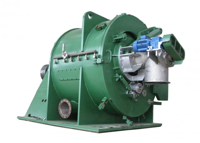 Horizontal  Continuous Centrifugal Filter Separator Food Industry Scraper Discharge