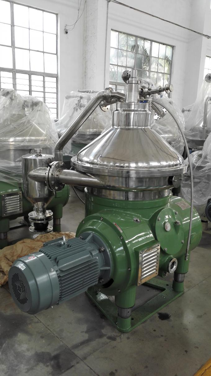 High Performance Oil Water Separator / Liquid Solid Disc Stack Centrifuge