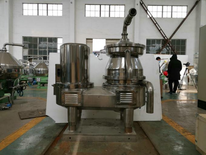 Stainless Steel Disc Oil Separator With PLC Control System Solid To Liquid