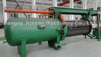 Durable Horizontal Pressure Filter For Edible Oil Solvent Extraction And Refinery Plant supplier