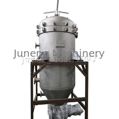 High Efficiency Closed Plate Type Liquid Oil Filter Machine , Vertical Filter Press