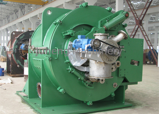 China Automatic Starch Siphonic Scraper Centrifugal Filter Centrifuge 1550 Rpm Drum Speed supplier