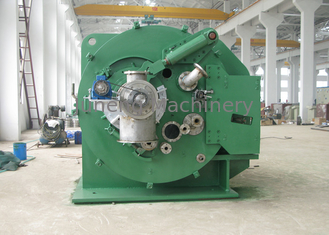 China Small solid remove vacuum green color centrifugal solid liquid separator supplier