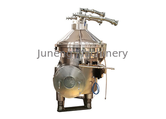 centrifugal separator of fluids, for the extraction of oil from the viscera of fish