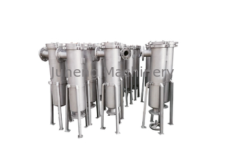 Stainless Vertical Pulse Jet Bag Filter / High Pressure Bag Filter System