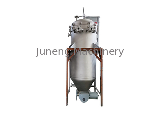 Automatic Slag Vertical Pressure Leaf Filters For Diesel Oil , Lubricating Oil