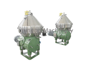 SS 304 Industrial Fuel Centrifuge Oil Water Separator For Solid Liquid Separation
