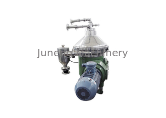 Industrial Continuous Centrifugal Separator , Milk Disc Stack Centrifuge