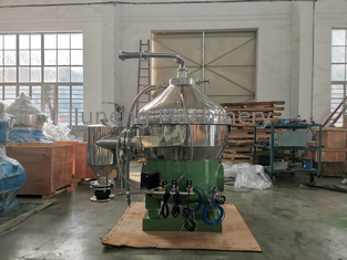 Disc Bowl Centrifugal Separator For Milk Processing Remote Auto Operation
