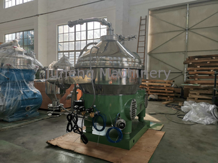 Large Production Capacity Centrifugal Cream Separator / Industrial Milk Separator