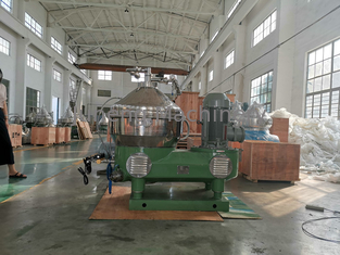 High Speed Milk Cream Separator Machine With PLC Controller Operating Stability supplier
