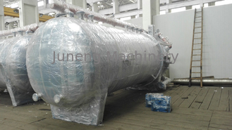 Vacuum Rotary Leaf Filter / Horizontal Leaf Filter Completely Sealed Filtration