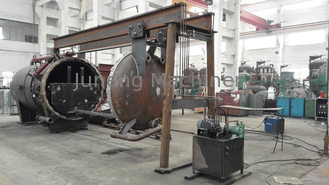 Energy Saving Horizontal Pressure Leaf Filter With Filtration Tank , Filtering Plate supplier