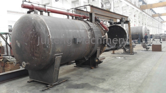 Oil Horizontal Pressure Leaf Filter For Food Industries No Leakage
