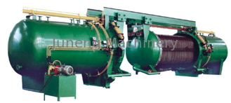 China Carbon Steel Horizontal Pressure Leaf Filter Capacity 0.2 T/H·㎡ Used Sulphur , Plastic etc supplier