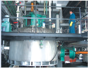 Full Enclosed Agitated Reacting Nutsche Filtering, Washing, Drying (three in one ) Machine supplier