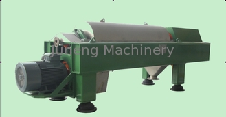 Drum diameter 350 mm Horizontal Decanter Centrifuges removing solids from liquid