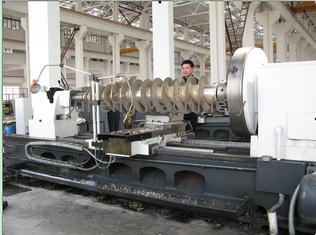 Double frequency conversion control horizontal decanter centrifugal with capacity 5~18m3/h