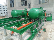 Automatic Horizontal Pressure Leaf Filter Dry Or Wet Solids Discharge