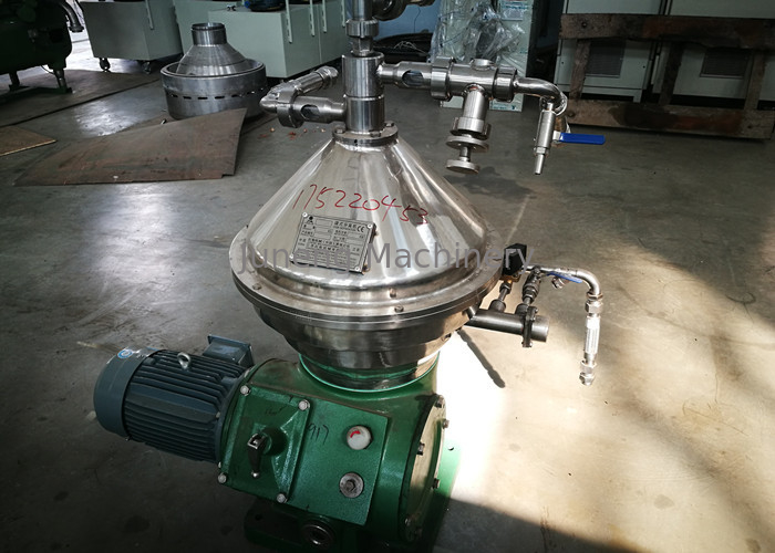 Small Capacity Clarification Process Vegetable Separator , Beverage Separator supplier