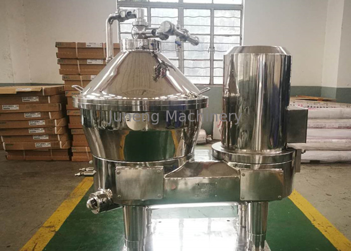 Stainless Steel Color Vegetable Juice Separator With Rotator Drum For Factory Use