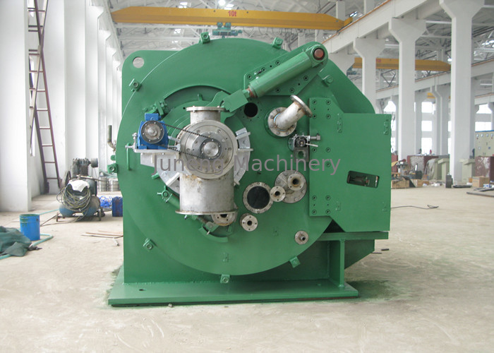 Small Solid Remove Vacuum Leaf Filter / Green Centrifugal Solid Liquid Separator