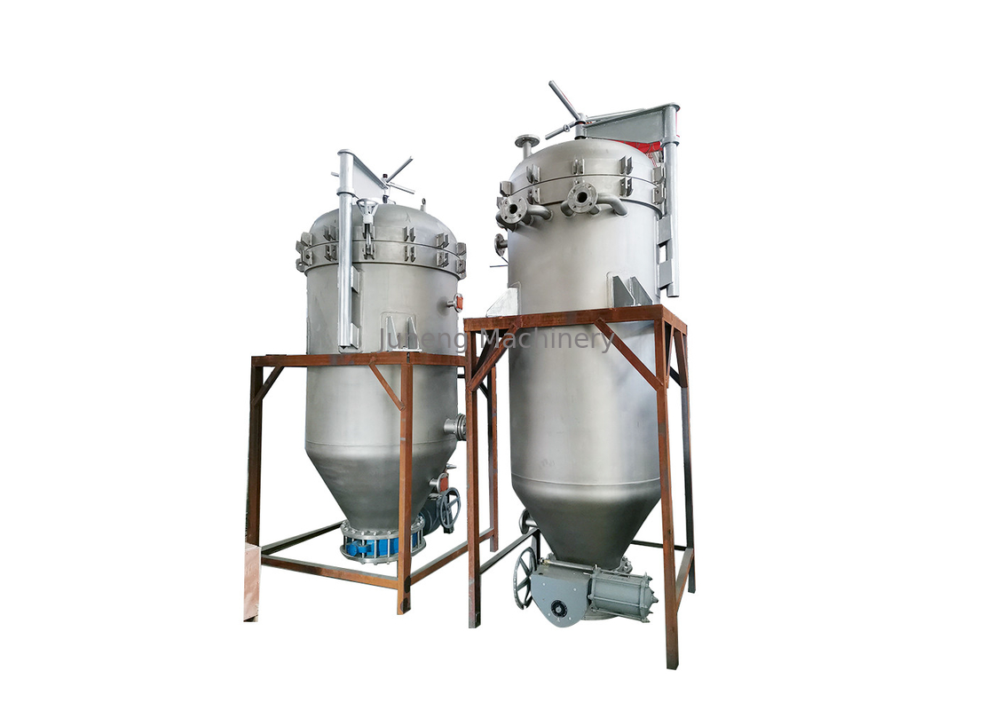 High Efficiency Vertical Pressure Leaf Filters Machine No Material Wastage supplier