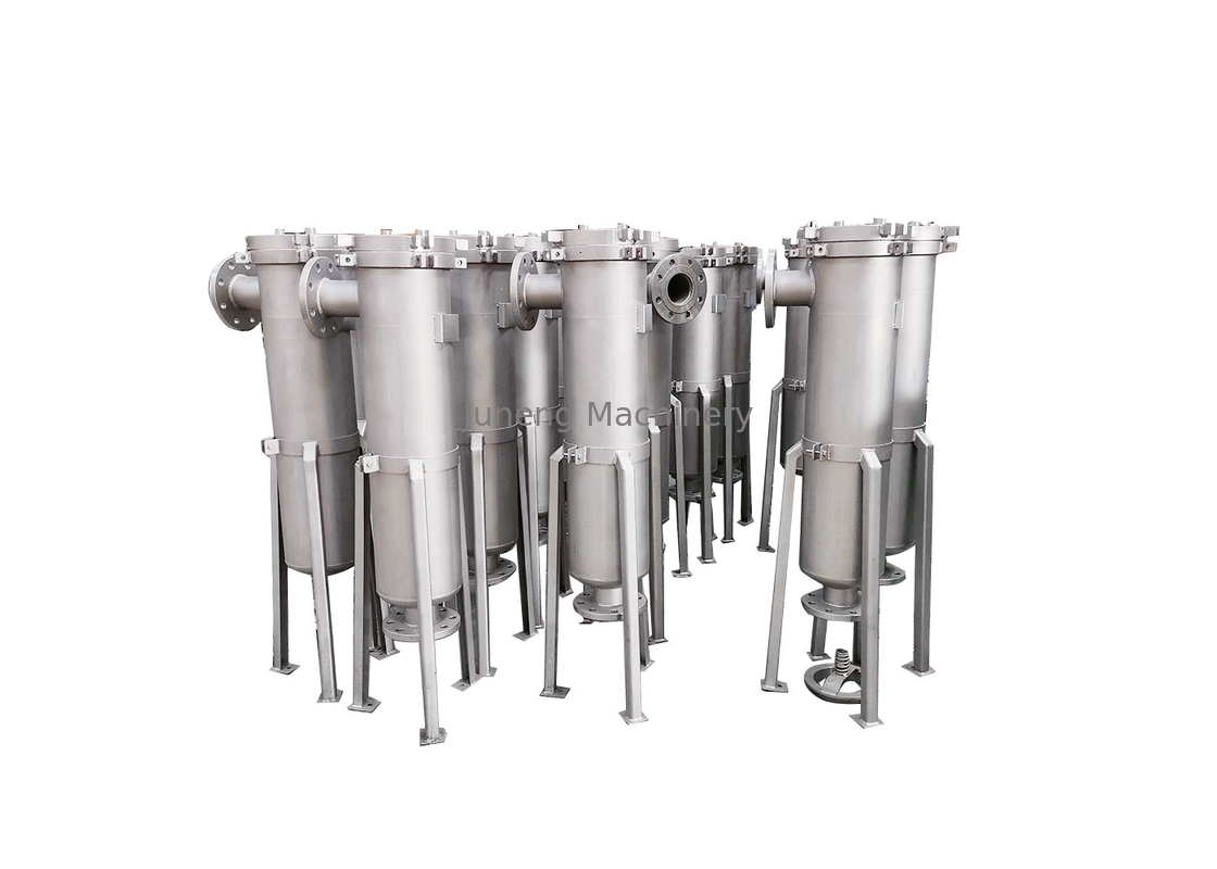 Stainless Vertical Pulse Jet Bag Filter / High Pressure Bag Filter System supplier