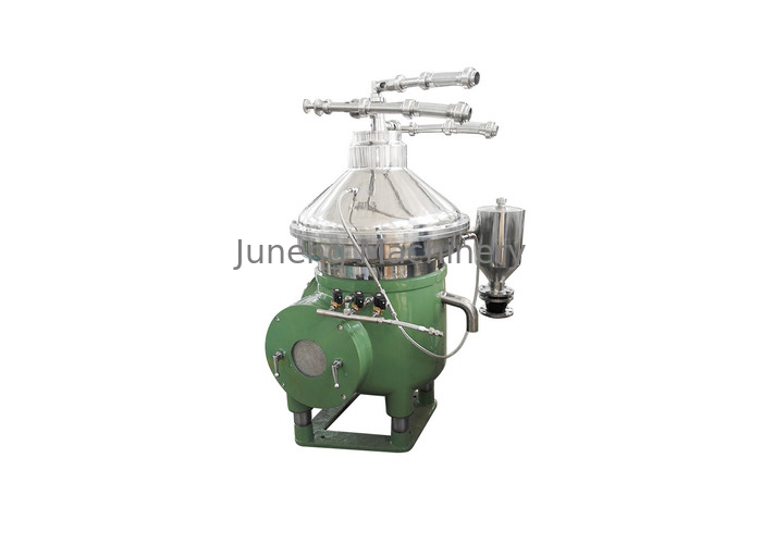 Automatic Centrifuge Oil Water Separator Piston Type Slag Removal