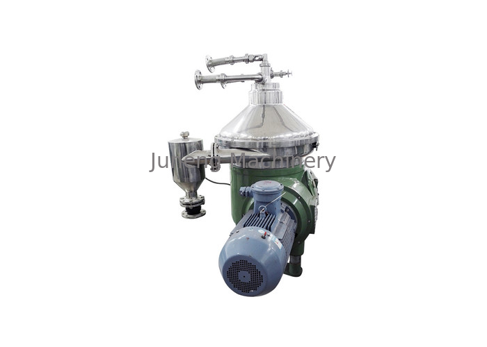 Industrial Continuous Centrifugal Separator , Milk Disc Stack Centrifuge supplier