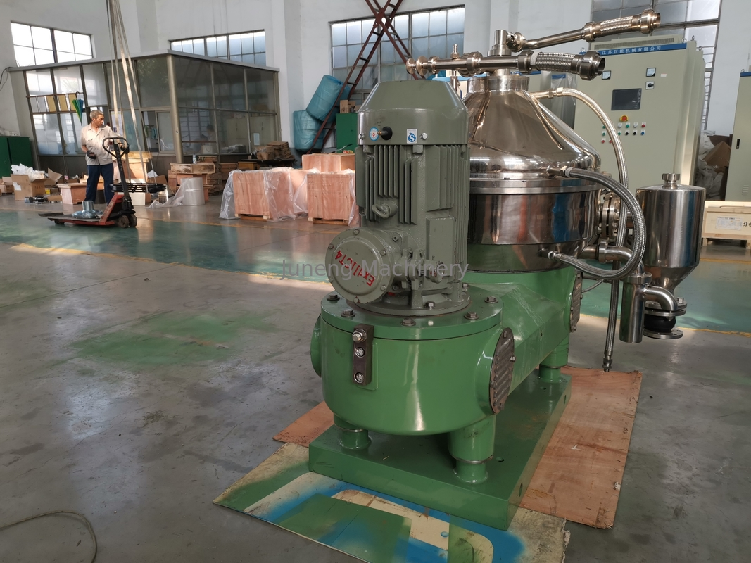Disc Centrifuge Industrial Oil Separators For Chemical Stable Operation