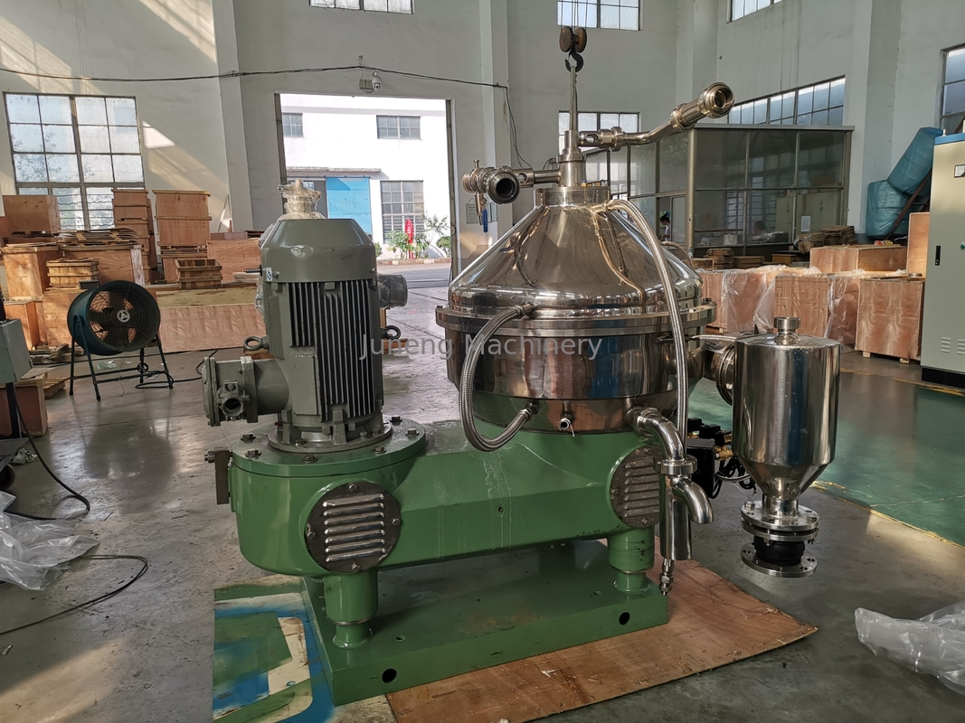 Two Phases Lube Oil Separator , High Centrifugal Oil Water Separator Filter