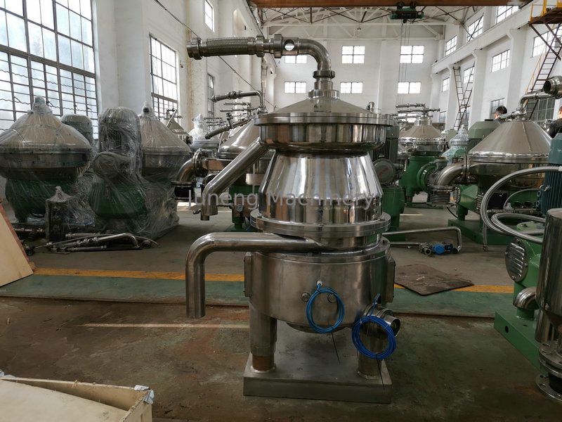 Automatic Disc Stack Centrifuge , Centrifugal Oil Water Separator Three Phase