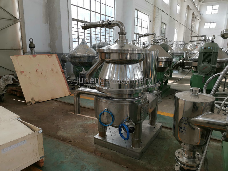 Stainless Steel Disc Oil Separator With PLC Control System Solid To Liquid supplier