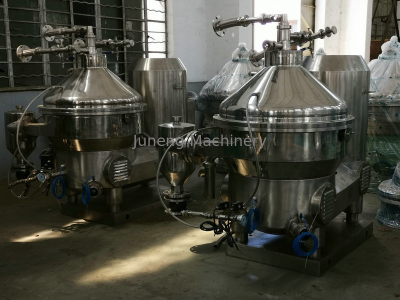 Fullly Automatic Disc Oil Separator Three Phase Large Capacity Production