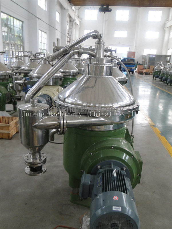 Disc Oil Solid Wall Bowl Centrifuge Separator Pressure 0.05 Mpa For Corn Oil Separation supplier
