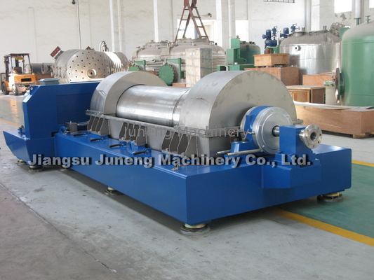 Blue Three Phase Horizontal Decanter Centrifuge Centrifuge Separator