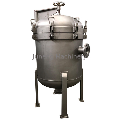China Industrial Bag Filter / DL4P2S Stainless Steel Bag Filter Manufacture Price with PP Filter Bag distributor