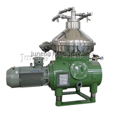 China Continuous Operate Disc Oil Separator Virgin Coconut Oil Centrifuge Machine distributor