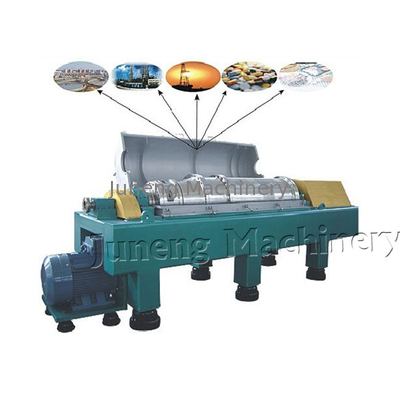 China LW550W Type Water Treatment Horizontal Decanter Centrifuge For Sludge Dehydration distributor