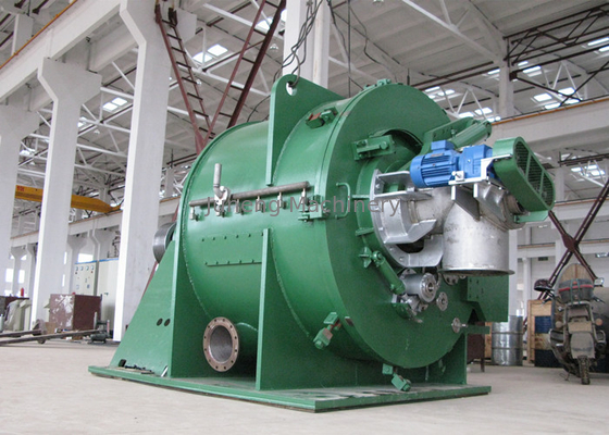 China High capacity SS304 scraper continuous centrifugal solid liquid separator distributor