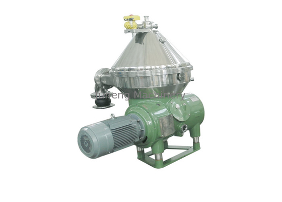 3 Phase Continuous Centrifugal Separator , High Power Disc Oil Separator